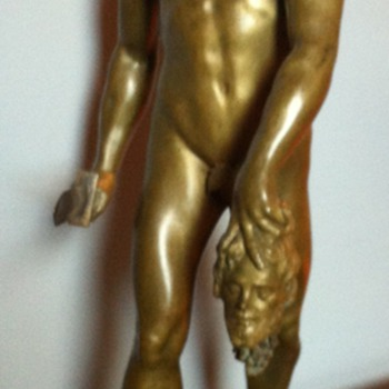 Bronze Bacchus Sculpture. - Visual Art