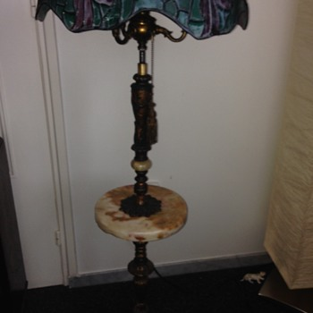 Special old lamp