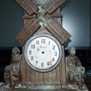 My Dumpster Diving Windsor Dutch Windmill Clock  - Clocks