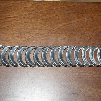 Wide and Heavy Sterling Bracelet - Fine Jewelry