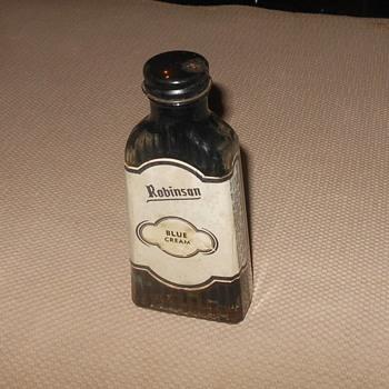 Robinon Blue Cream Leather Polish Bottle