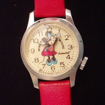 "1978 Bradley ""Animated"" Minnie Mouse - Wristwatches"