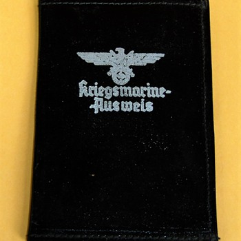 German Navy Document Holder