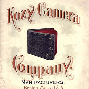 1890s Kozy Cameras: A Bookform Design