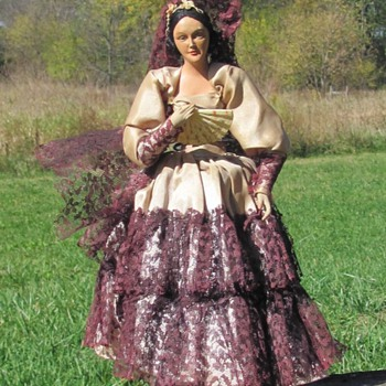 Spanish Dancer Doll - Dolls
