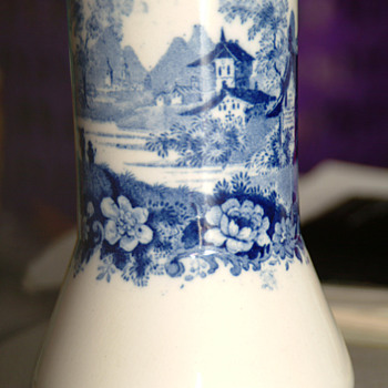 Minton Blue/White vase