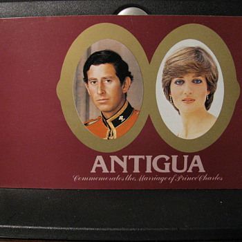 Antigua commemorates the Marriage of Prince Charles - Stamps