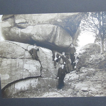 Tourists at Little Round Top Gettysburg - Military and Wartime