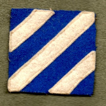 Pre-WWII U.S. 3rd Division Patches - Military and Wartime