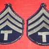 WW2 E-5 TECH SGT. STRIPES?
