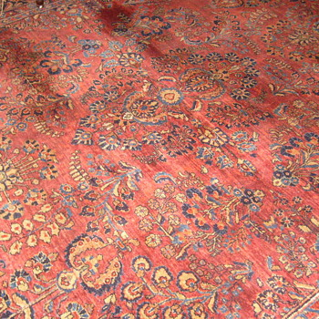 My .99 cent Persian Palace Rug from eBay