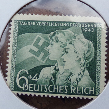 2 More Nazi Stamps