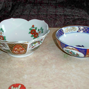 My Imari China Collection