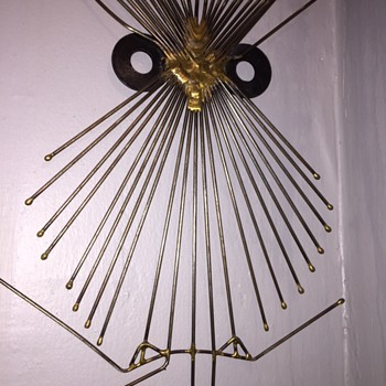 Abstract Metal Owl