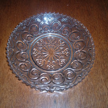 Early American Pattern Glass Bowl…without pattern name