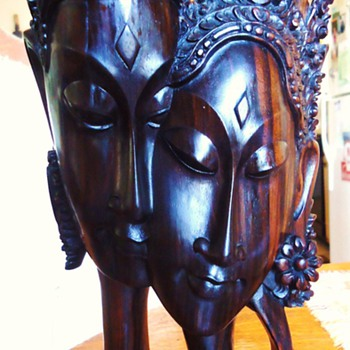 Sumampan Bali Wood Statue! on-line auction, It is so so so Beautiful, LOVE! - Asian