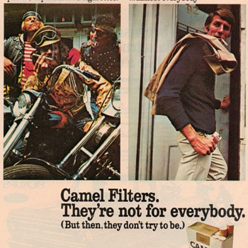 1970 - Camel Cigarettes Advertisement - Advertising