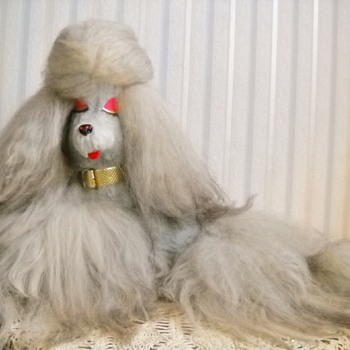 1971 Pussy Cat Toy Co. Fur Poodle