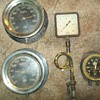 vintage railroad gauges