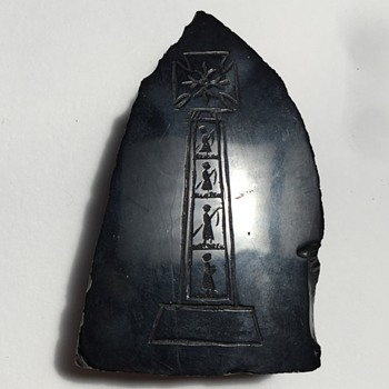 Antique Whitby Jet Amulet?
