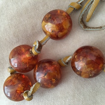 Puzzling Amber or not. - Fine Jewelry