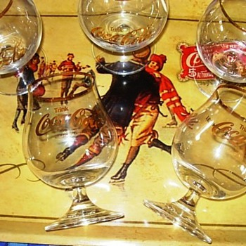 Coca-Cola Brandy Glasses - Coca-Cola