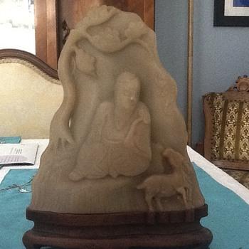 Ivory or soapstone Buddha ?