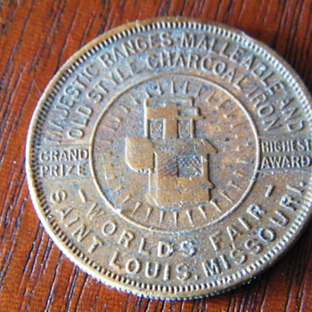 Mystery coin Worlds fair - US Coins