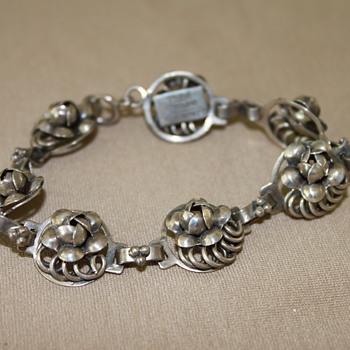Hobe Sterling Silver Bracelet