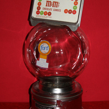 Ford gumball machine - Coin Operated