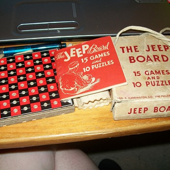 The Jeep Board 15 Games and 10 Puzzles