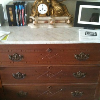 Antique carving chest?