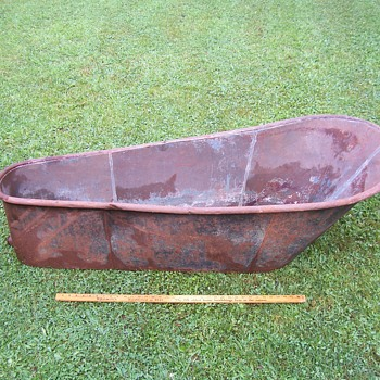ANTIQUE-CIVIL WAR ERA? BATHTUB