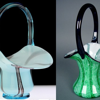 Welz Vrs Kralik #4 - Shape study  - Art Glass