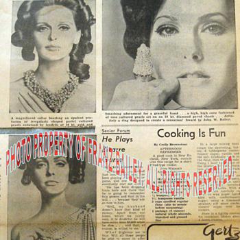 EUH'MA 1969 Top Pearl Design by Jonathan Bailey. - Fine Jewelry