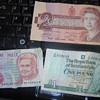 Canadian, Italian and Scottish paper currency