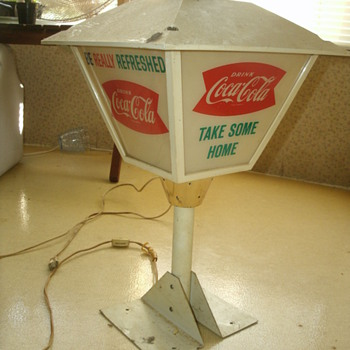 Coca-Cola Lamp? - Coca-Cola