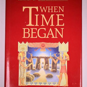 When Time Began by Zecharia Sitchin (hc)