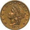 1854 $20 Kellogg & Co., San Francisco, Double Eagle Gold Coin