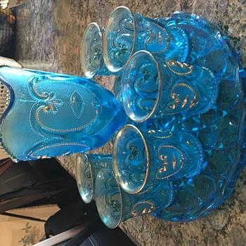 Dugan Bictor Jeweled Heart is  - Glassware