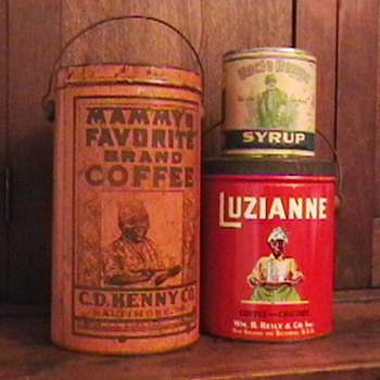 Advertising Tins..... Black Americana