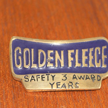 Golden Fleece Australia Safety Award - Petroliana