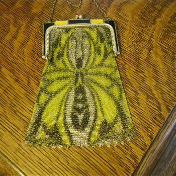 More Antique Metal Mesh Purses - Bags