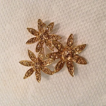 Year of MONET Brooch??? - Costume Jewelry