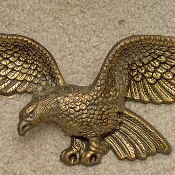 Eagle from Fireplace mantle - Medals Pins and Badges