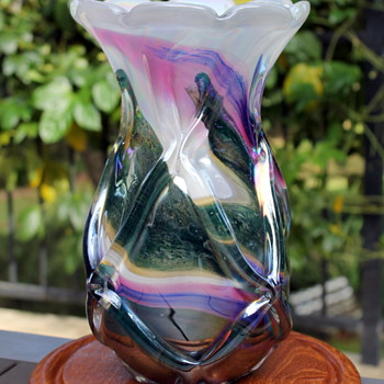 Iwatsu Art Glass goes over the top and survives