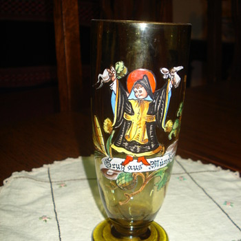 Theresienthal Amber Glass Munich Child or a Gallé glass? - Art Glass