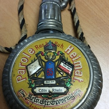 German flask/canteen
