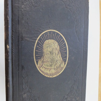 1856 Fleetwood's Life of Christ - Books