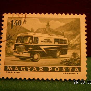 1963 Magyar Posta 1 40Ft Stamp - Stamps